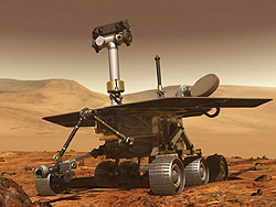 Photo of Mars Rover